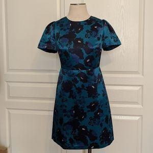 Draper James Teal Floral Dress